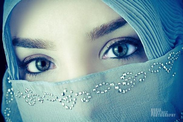 Красивые картинки мусульманок с надписью, такая