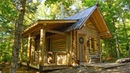 The New Porch on My Off Grid Log Cabin is My Favorite Spot on the Homestead
