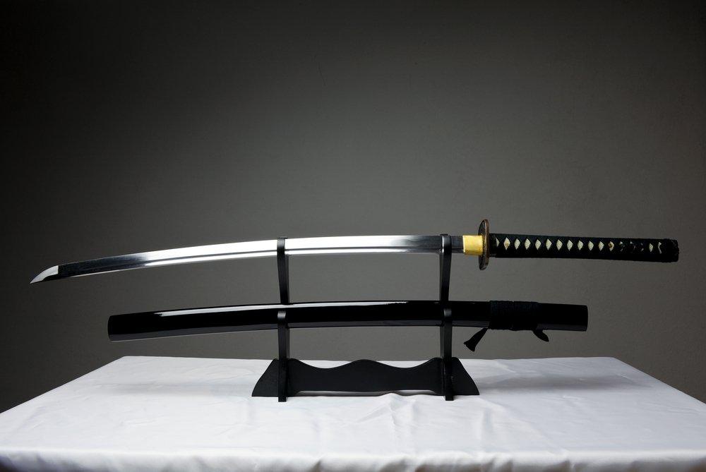 или картинки клинка самурая вошли целлулоидные