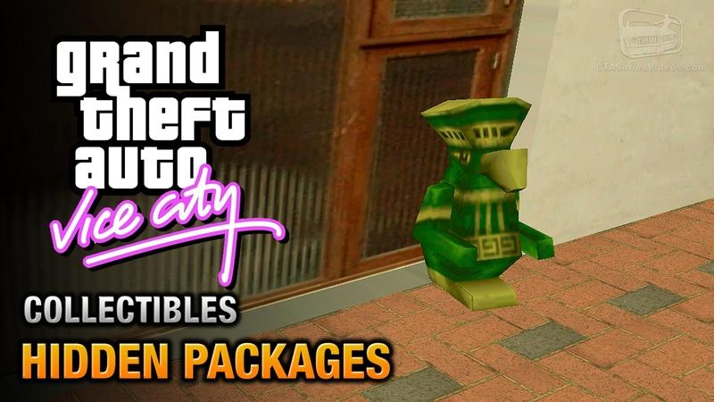 GTA Vice City - Hidden Packages [City Sleuth Trophy / Achievement]