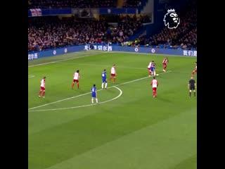 Eden hazard was a serious problem for premier league defences
