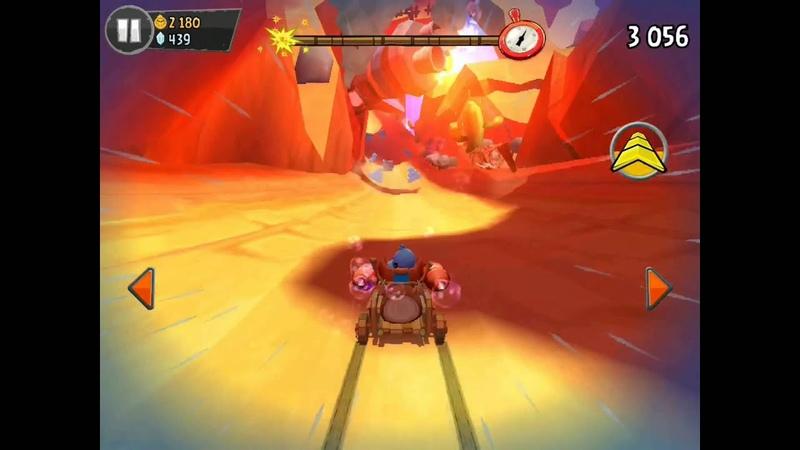 Angry Birds Go! Геймплей Прохождение Часть 15 Gameplay Walkthrough Part 15