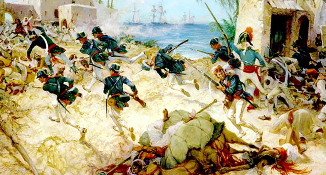 Морская пехота в атаке