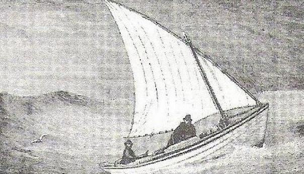 ПЕРВАЯ ГОНКА ЯХТСМЕНОВ-ОДИНОЧЕК ЧЕРЕЗ АТЛАНТИКУ. Часть 1. БРАТЬЯ ЭНДРЮС Первая гонка яхтсменов-одиночек через Атлантику Отчего-то считается, что она прошла в 1960 году. Это не так - ей больше
