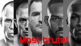 Most brutal knockouts (UFC Pride MMA)