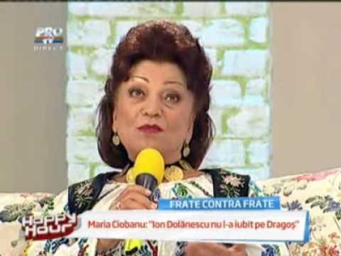 Maria Ciobanu Nu am fost casatorita cu Ion Dolanescu