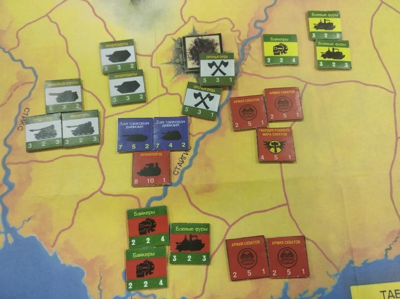 Встречный танковый бой. В шаге от окружения