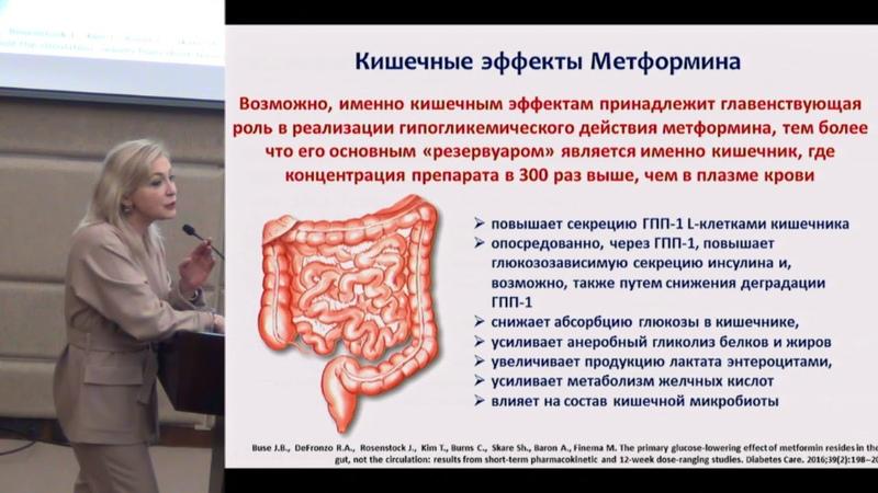 Демидова Т Ю Метформин новые возможности в терапии сахарного диабета 2 типа