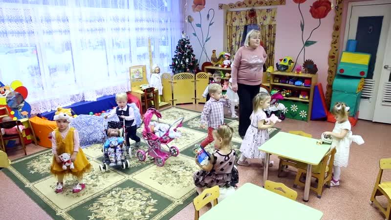 Видеосъемка новогоднего утренника в детском саду
