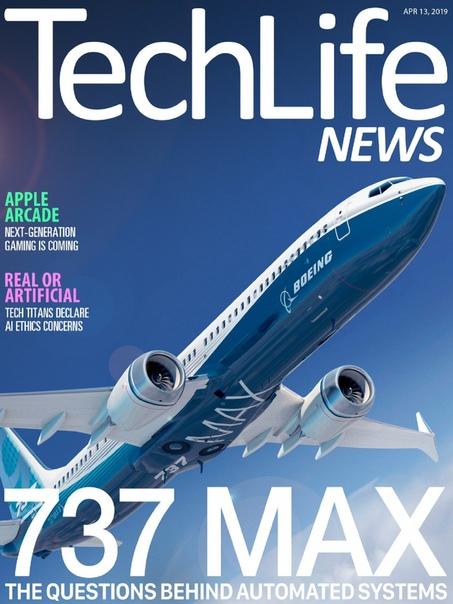 Book cover 2019-04-13 Techlife News