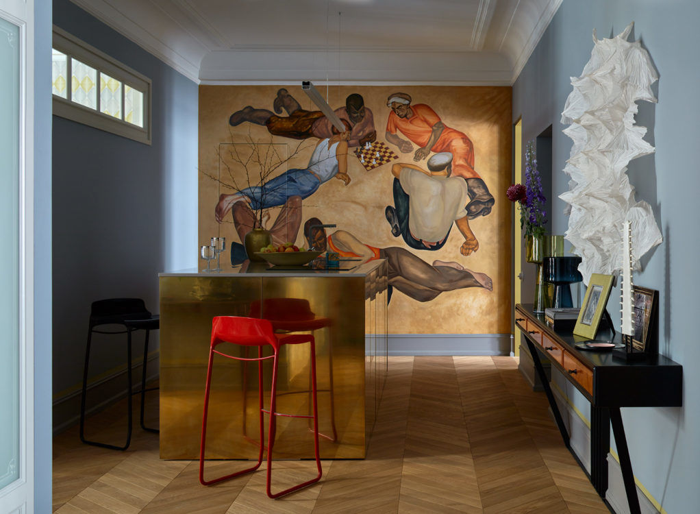Квартира для антиквара в Санкт-Петербурге