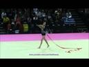 Anna RIZATDINOVA (UKR) ribbon - 2011 Montpellier worlds AA