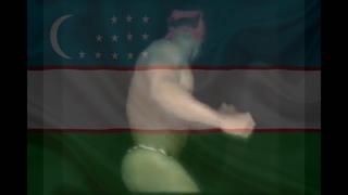 Рикардо Милос флексит под лютый гимн Узбекистана.