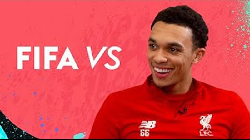 Trent reacts to having WORSE crossing than Robertson! | Trent Alexander-Arnold vs FIFA 20