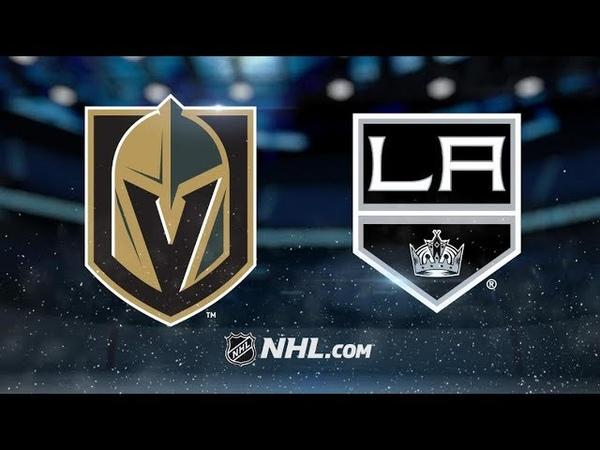 Vegas Golden Knights vs Los Angeles Kings   Oct.13, 2019   NHL 1920  Game Highlights   Обзор матча