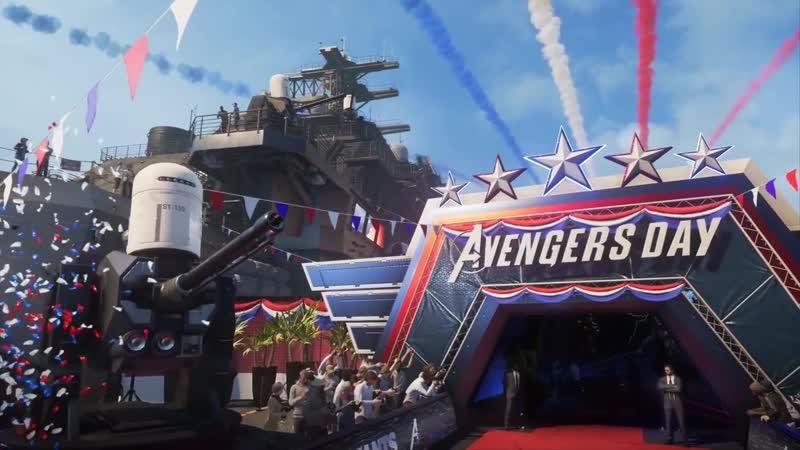 Мстители Marvel Русский трейлер игры 2020