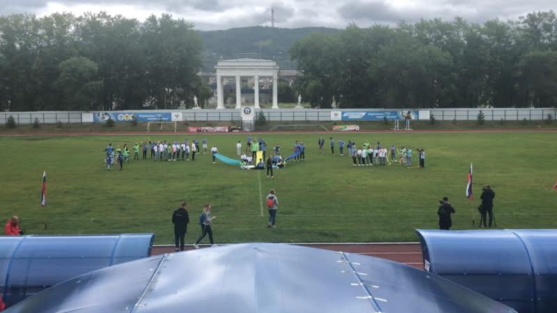 Визитка Спартакиада 2019 ДОЛ ЕЛАНЧИК