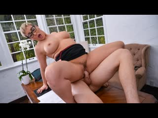 Ryan keely laid by a milf lawyer (milf, big tits, big ass, boss, blonde, blowjob, glasses)