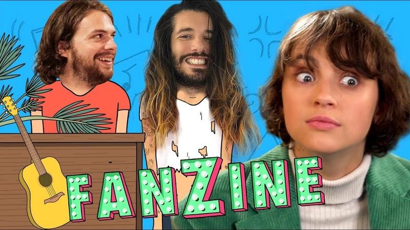 Fanzine 2 Pomme reprend Diam's Tove Lo son premier texte etc Avec Waxx LeLive