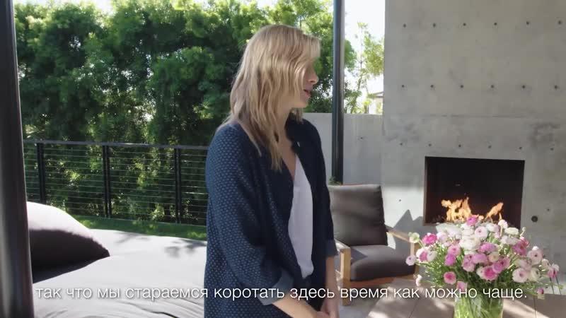 Дом Марии Шараповой в Лос-Анджелесе_ японский стиль, бетон и сюрприз в подвале