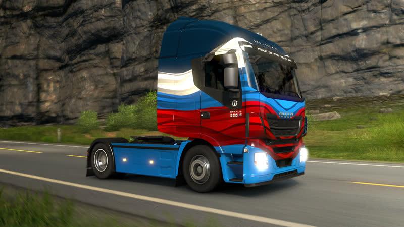 Euro Truck Simulator 2 перевозим грузы