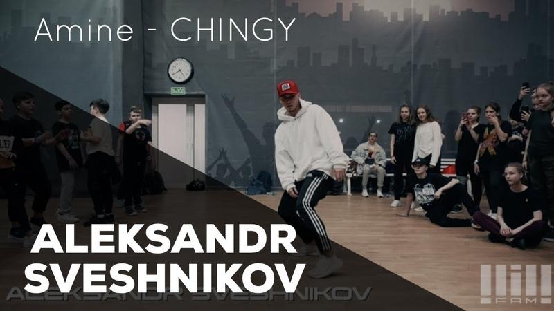 ALEKSANDR SVESHNIKOV Amine CHINGY