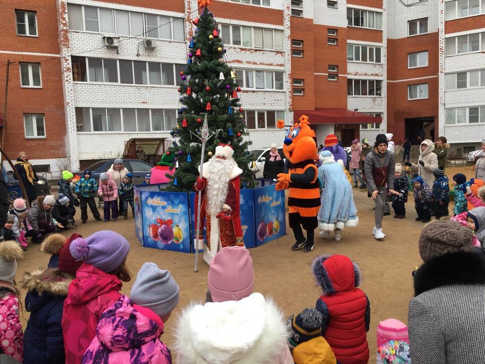 Как прошел новогодний праздник нашего двора на Чкалова, 5?