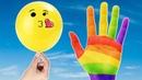 Colors Finger Family Colors Balloons Bóng Bay Và Gia Đình Ngón Tay Màu Sắc