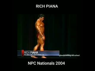 Рич Пиана на NPC Nationals 2004
