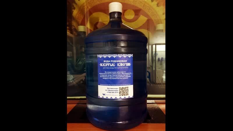 Опрос Какую воду вы пьёте бутилированную или из под крана