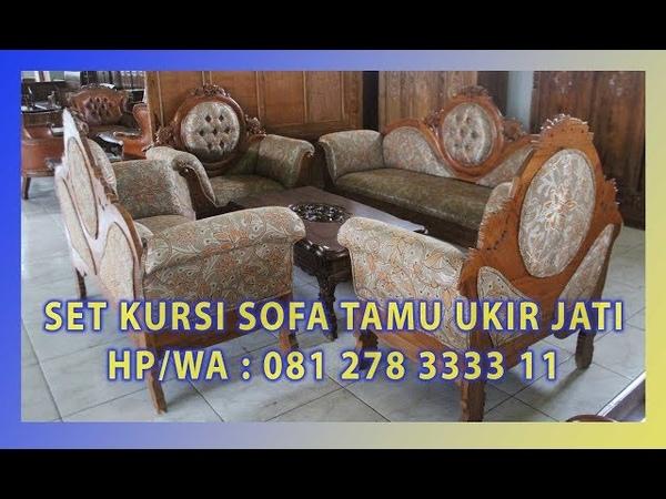 Jual Set Kursi Sofa Tamu Ukir Jati By Jepara Indah Furniture