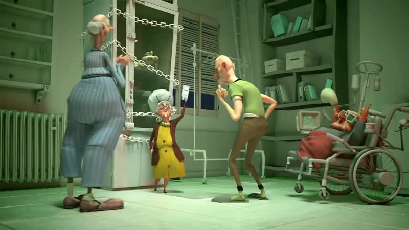 Swing City The Dirty ~ Boogie 3D animated ~ Never Without My Denture