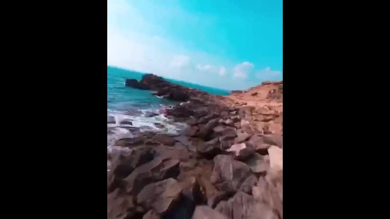 Облет живописного побережья на дроне ЖЮ