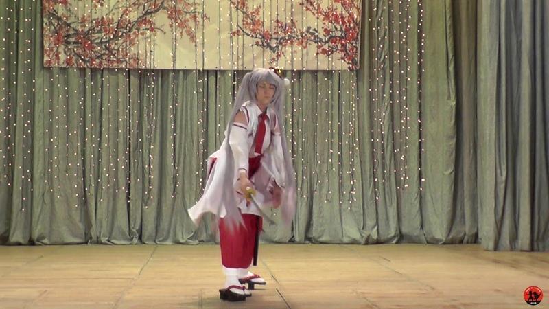 Inaba Tsukuyo (Busou Shoujo Machiavellism) (Одиночное косплей дефиле) - Haru no matata 2019