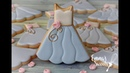 How to Make Bridesmaid Dress Cookies by Emma's Sweets