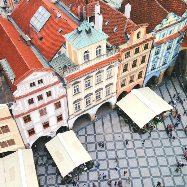 Тур в Прагу на 7 ночей с завтраками за 13400 c человека в ноябре