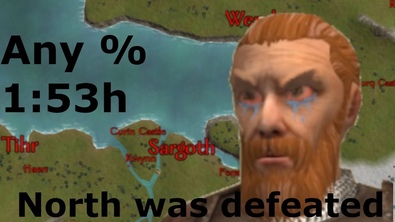 Exterminate Kingdom of Nords as fast as possible! Mount and Blade Warband Speedrun Any% 1:53:04