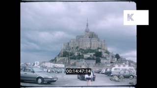 2000s Mont St Michel, Normandy, France, Home Movies