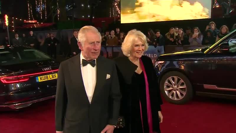 Prince Charles and Duchess of Cornwall Attended the Royal Premiere of 1917