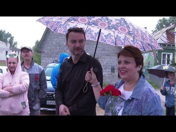 Виктор Неволин провел встречу с жителями деревни Минино