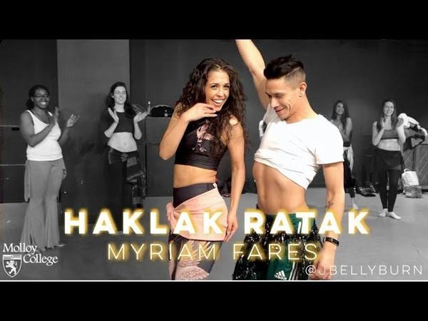 Myriam Fares - Haklak Rahtak   Fusion Bellydance   @JBELLYBURN