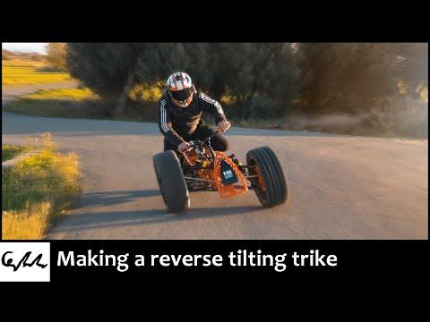 Making a reverse tilting trike