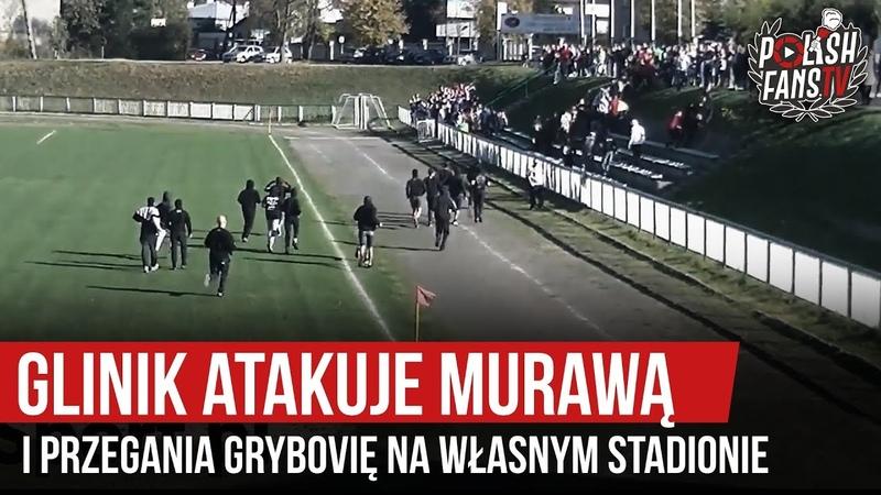 Glinik atakuje murawą i przegania Grybovię na własnym stadionie 20 10 2019 r