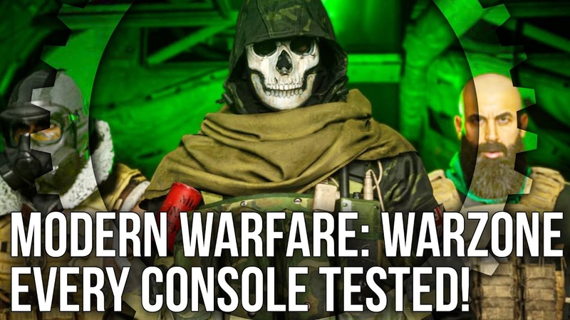 COD Modern Warfare: Warzone Mode - A Triumph For Infinity Ward's Tech? PS4/Pro/Xbox One/X Tested