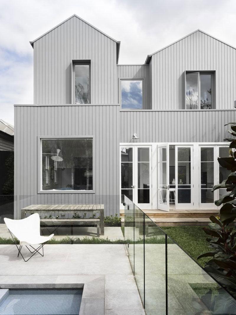 Наполненный светом современный семейный дом дизайнера Ali Ross в Мельбурне || 02