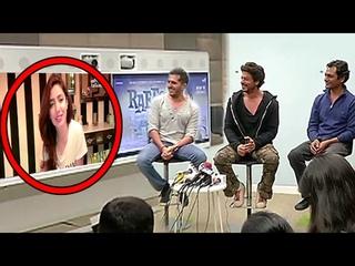 BANNED Raees Actress Mahira Khan's LIVE Chat From PAKISTAN With SRK,Nawazuddin