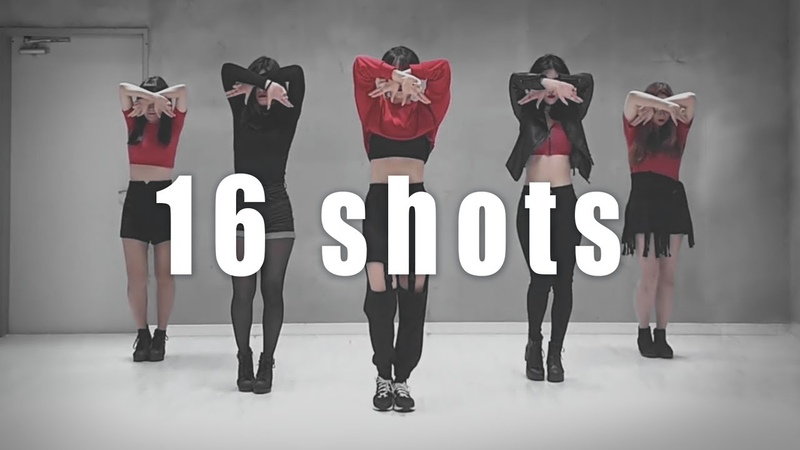 Stefflon Don 16 Shots BLACK PINK ver Dance Cover 5명 Mirrored 1 33~ by FREE A D