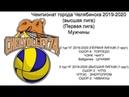 Чемпионат г Челябинска по волейболу мужчины игры от 10 11 19 Ballgames ЦУНАМИ