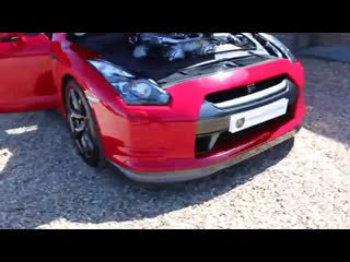Nissan gtr 3.8 v6 twin turbo black edition in fire storm red for sale uk