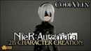 Code Vein 2B Character Creation NieR Automata